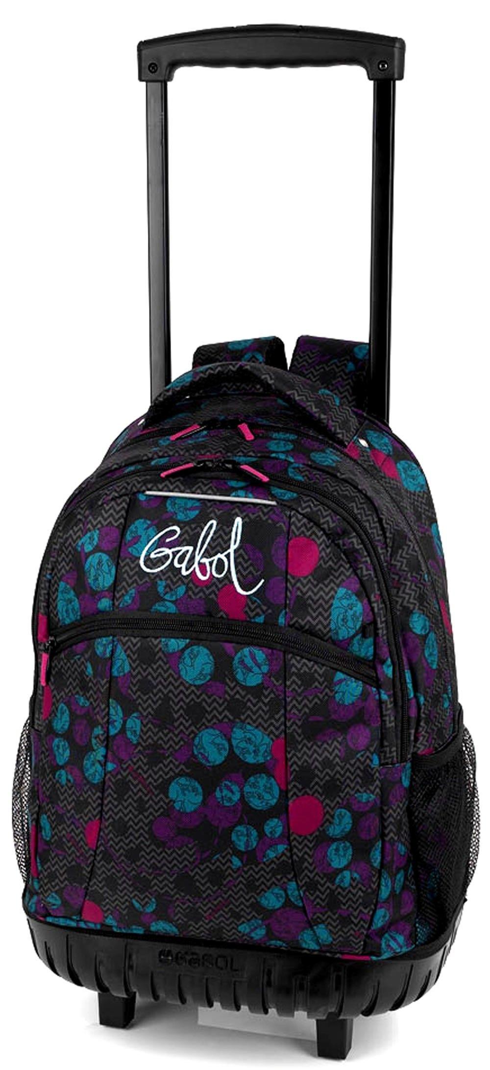 6d0e7b7e40b mochila escolar gabol clover Mochilas Escolares Con Carro