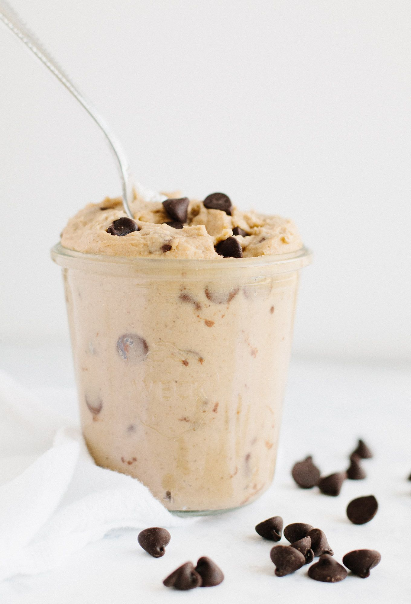 Chickpea Cookie Dough | Nourished By Nutrition #vegancookiedough