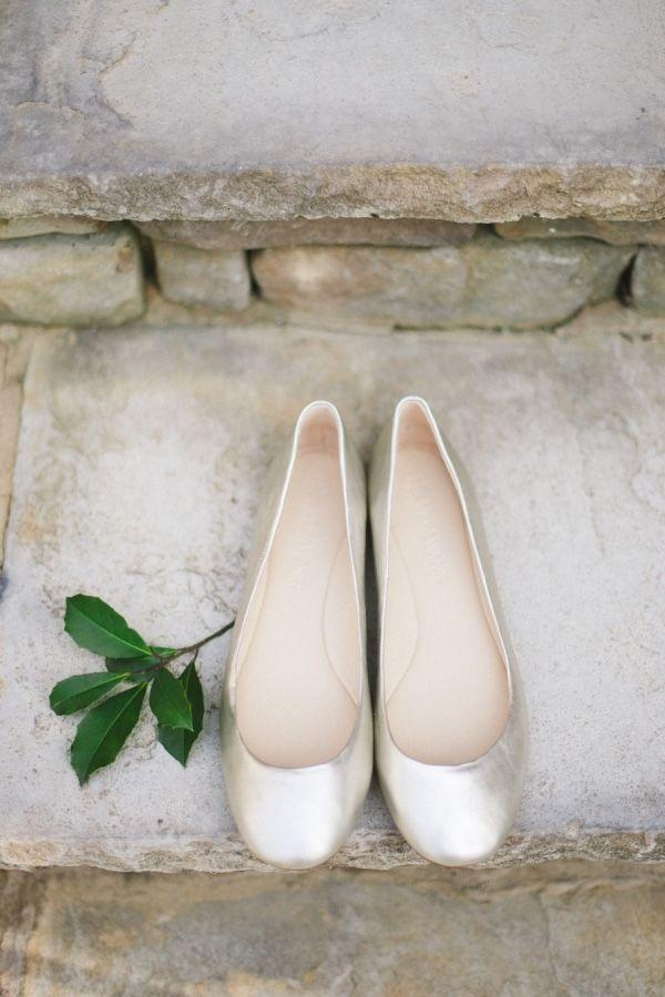 Bezaubernde Flache Brautschuhe Hochzeit Brautschuhe Pinterest