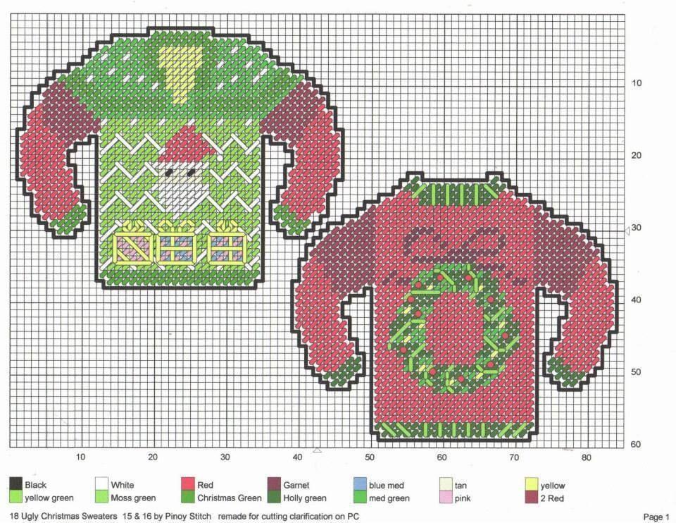 Ugly christmas sweaters 7 7 navide os pinterest - Lonas de plastico ...
