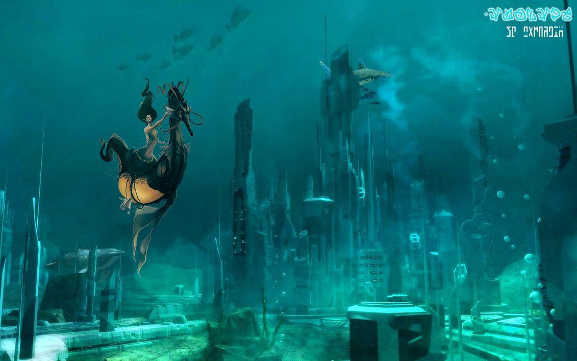 Atlantis The Lost City Wallpaper By Joschkit On Deviantart City Wallpaper Lost City Atlantis