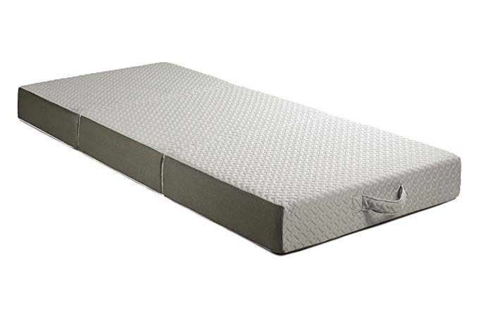 Amazon Com Milliard 6 Inch Memory Foam Tri Folding Mattress With