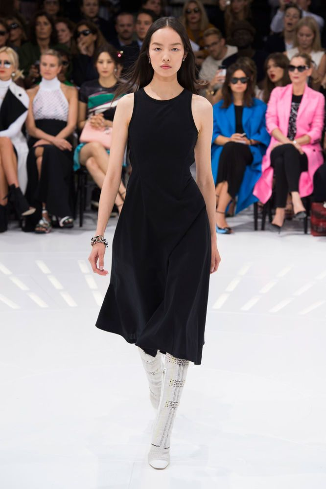 Dior spring 2015 collection show. Photo: Imaxtree