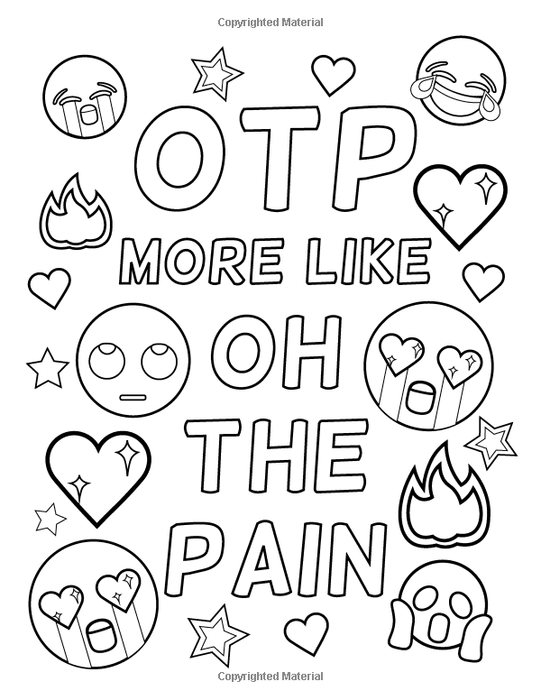 Amazon Com Emoji Coloring Book Of Funny Stuff Cute Faces And Inspirational Quotes 30 Quote Coloring Pages Emoji Coloring Pages Free Printable Coloring Pages