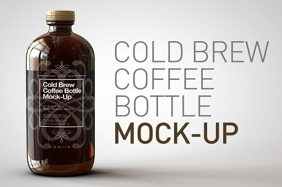 Cold Brew Coffee Bottle Mock Up Coffee Brewing Coffee Bottle Cold Brew