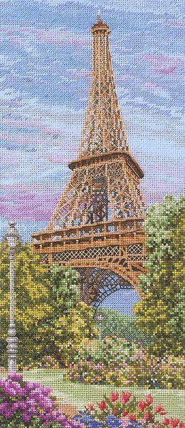 The Eiffel Tower Cross Stitch Kit