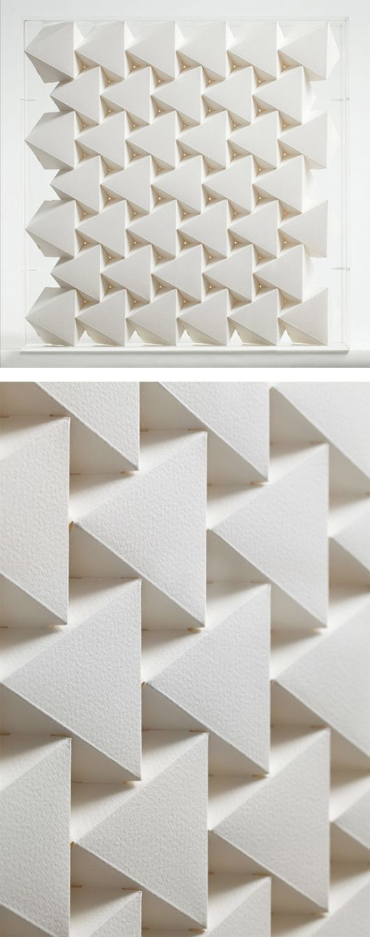 3D Paper Patterns by Benja Harney | Inspiration Grid