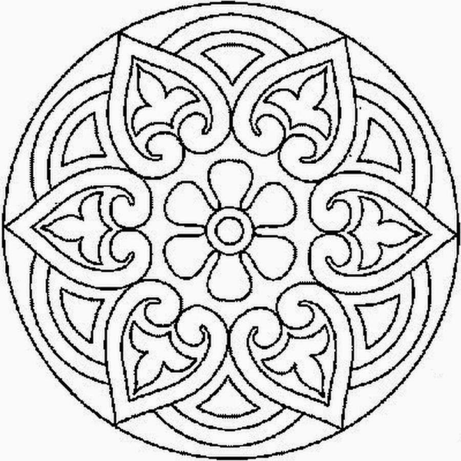 Mandalas Para Pintar: mandalas para colorear | mandalas | Mandala