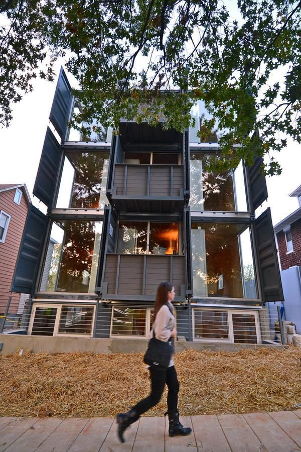 first shipping container apartment in DC AppartmentHome
