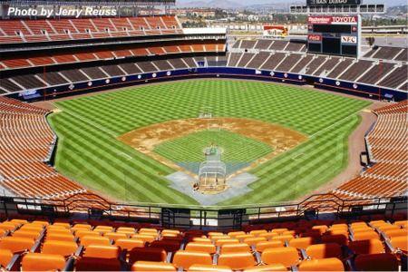 Jack Murphy Stadium 2001 Vs Stl Qualcomm Stadium Mlb Stadiums Baseball Stadiums Parks