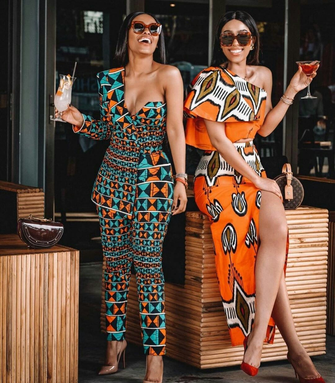 The best african prints dress styles