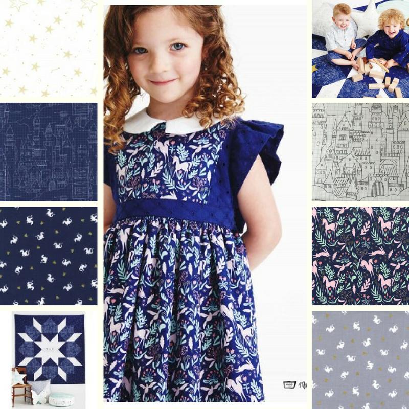 Magic Collection by Michael Miller beautiful fabrics at www.sunnysidefabricsuk.com