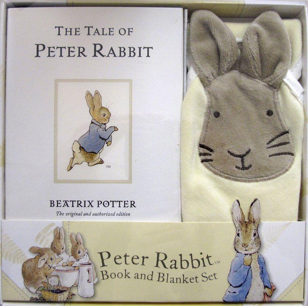 Peter Rabbit Book and Blanket Set (Potter): Beatrix Potter: 9780723265467: Amazon.com: Books