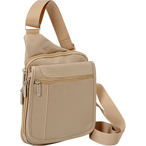 #MensBags, #MessengerBags, #Travelon - Travelon Messenger Bag Sand - Travelon Men's Bags