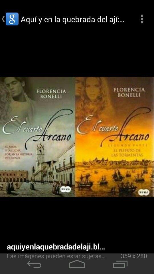 El cuarto arcano de Florencia Bonelli. | Estantería para leer ...