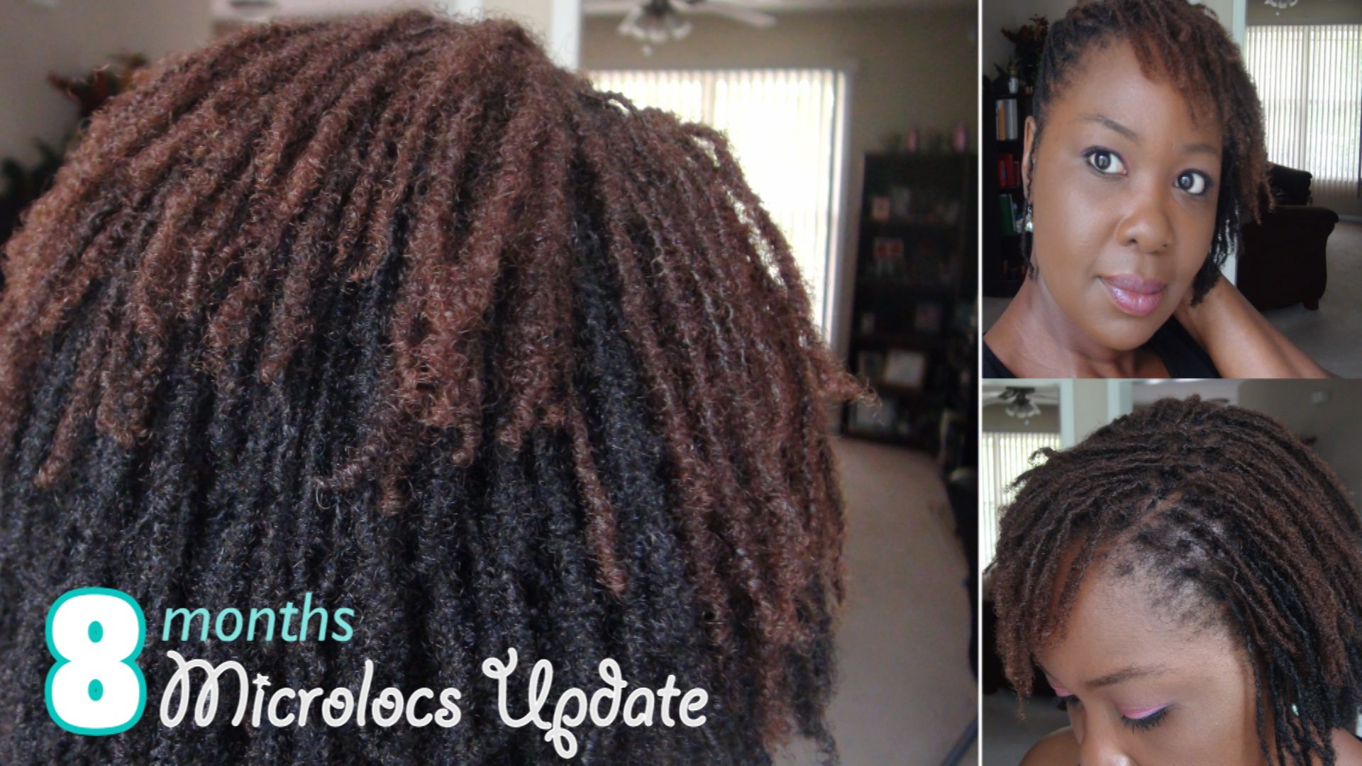 My locs 8 months ♡ microlocs journey Pinterest