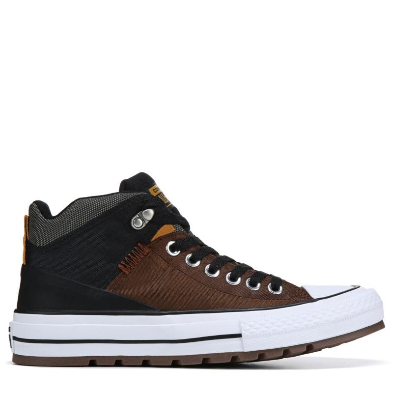 Converse Men s Chuck Taylor All Star Street Boots (Brown Black) c96102524