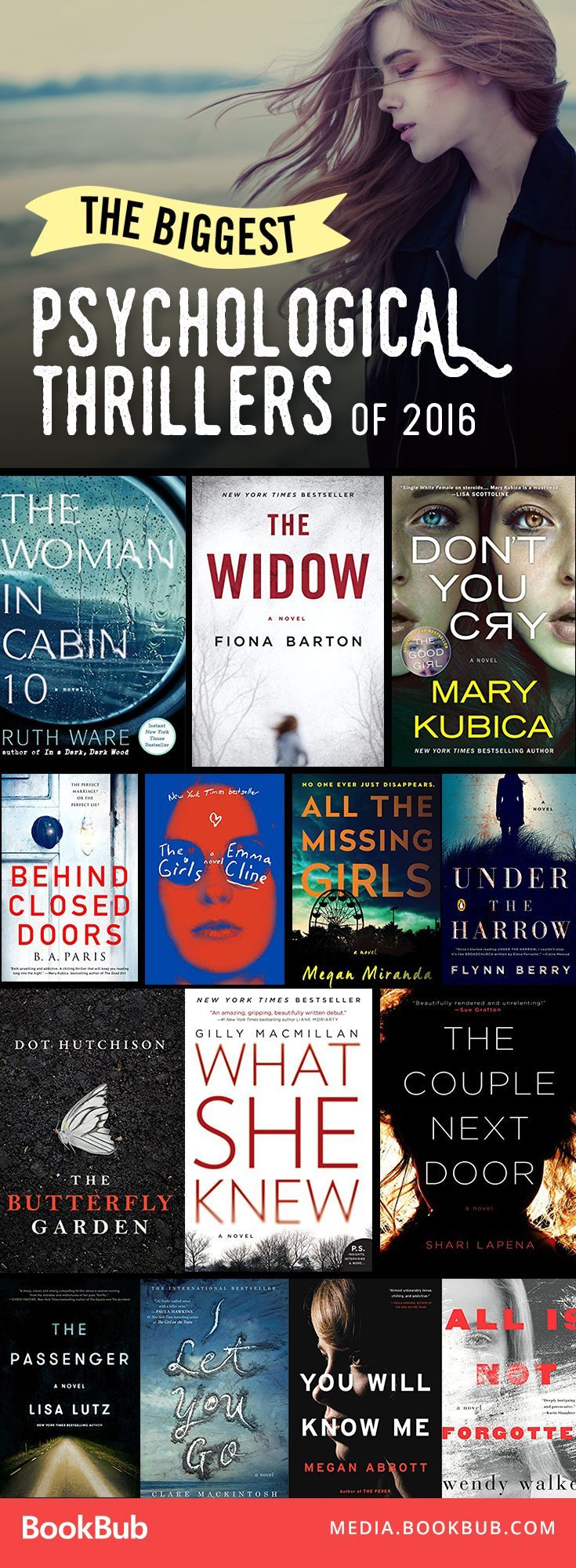 The Biggest Psychological Thriller Books To Read From This Past Year  Perfect Books To Read