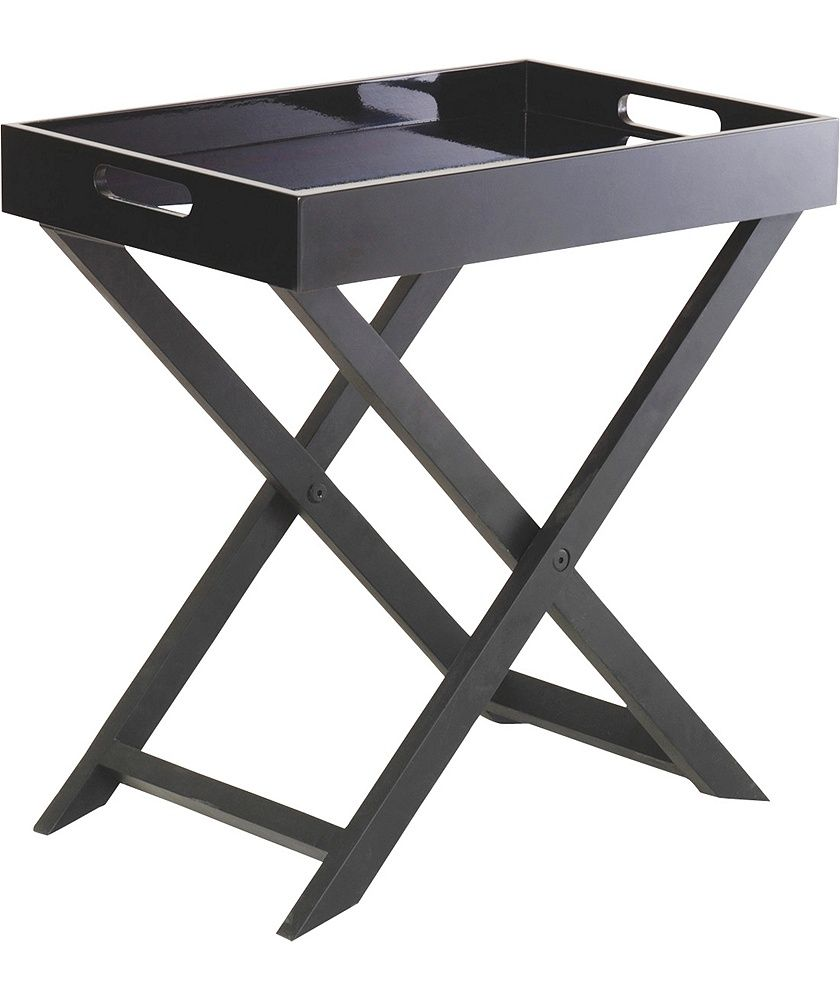 Buy Habitat Oken Small Occasional Table - Black at Argos.co.uk - Your