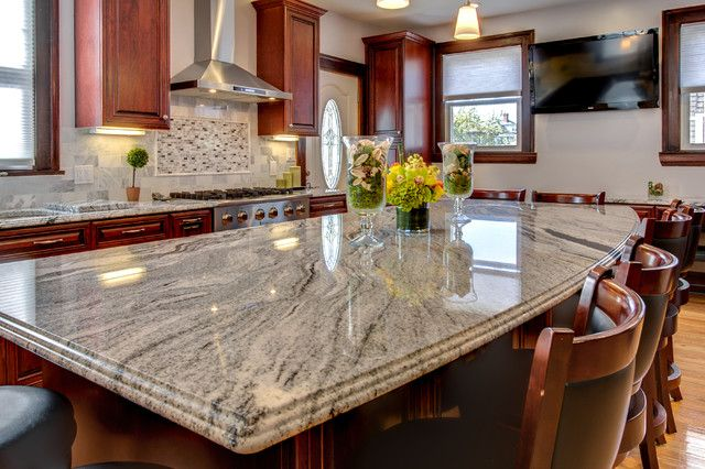Best Viscont White Granite Countertop Installation Project In 640 x 480