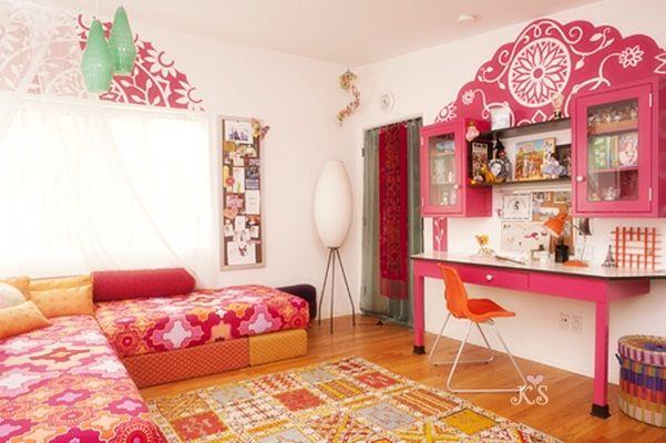 Bohemian Girl Room   Too Cute!