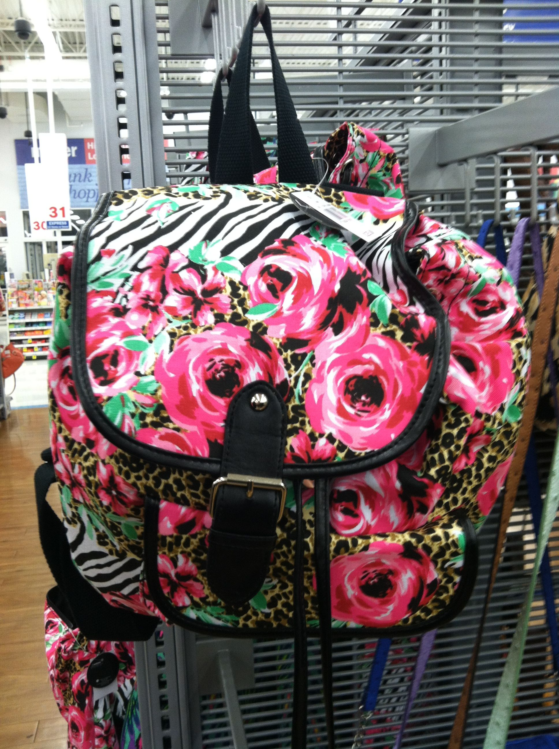 Cute backpack that\'s 25 bucks at Walmart :) | Accessories ...