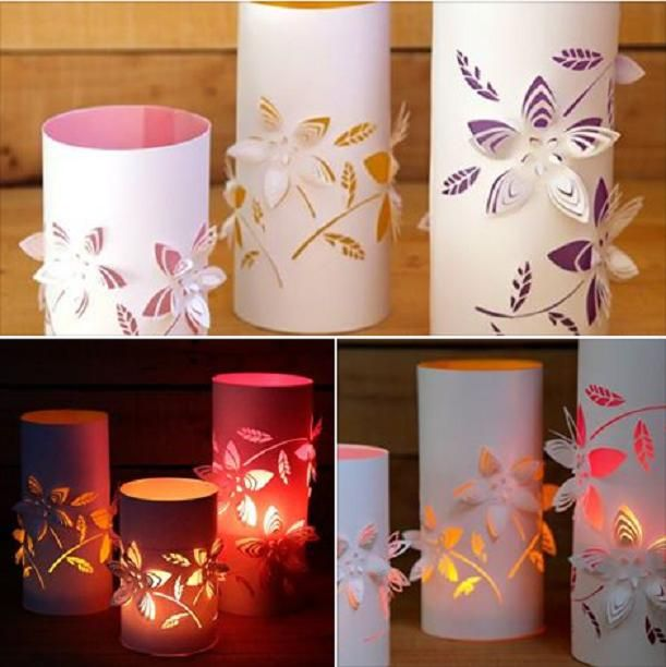 28 Outdoor Lighting Diys To Brighten Up Your Summer: DIY Dimensional Flower Paper Lanterns