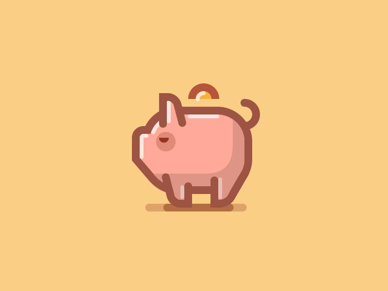 Piggy Bank Icon 3 Banks Icon Icon Piggy Bank