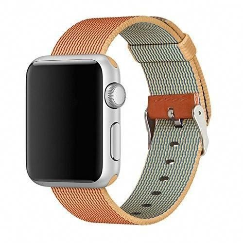 half off 740b9 903b4 Apple Watch 42mm Band Durable Waterproof Nylon iWatch Series 1 2 3 ...