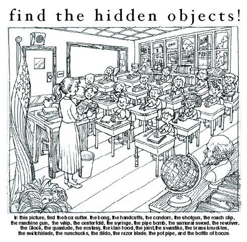 Hidden picture search