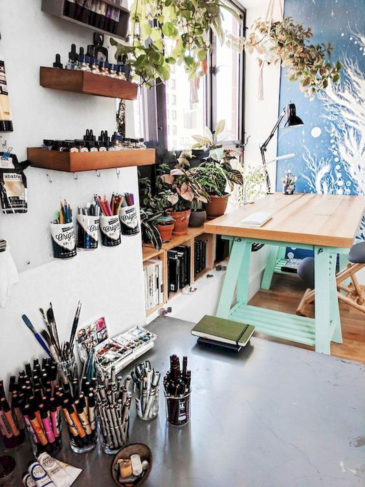 60 Most Popular Art Studio Organization Ideas And Decor 51