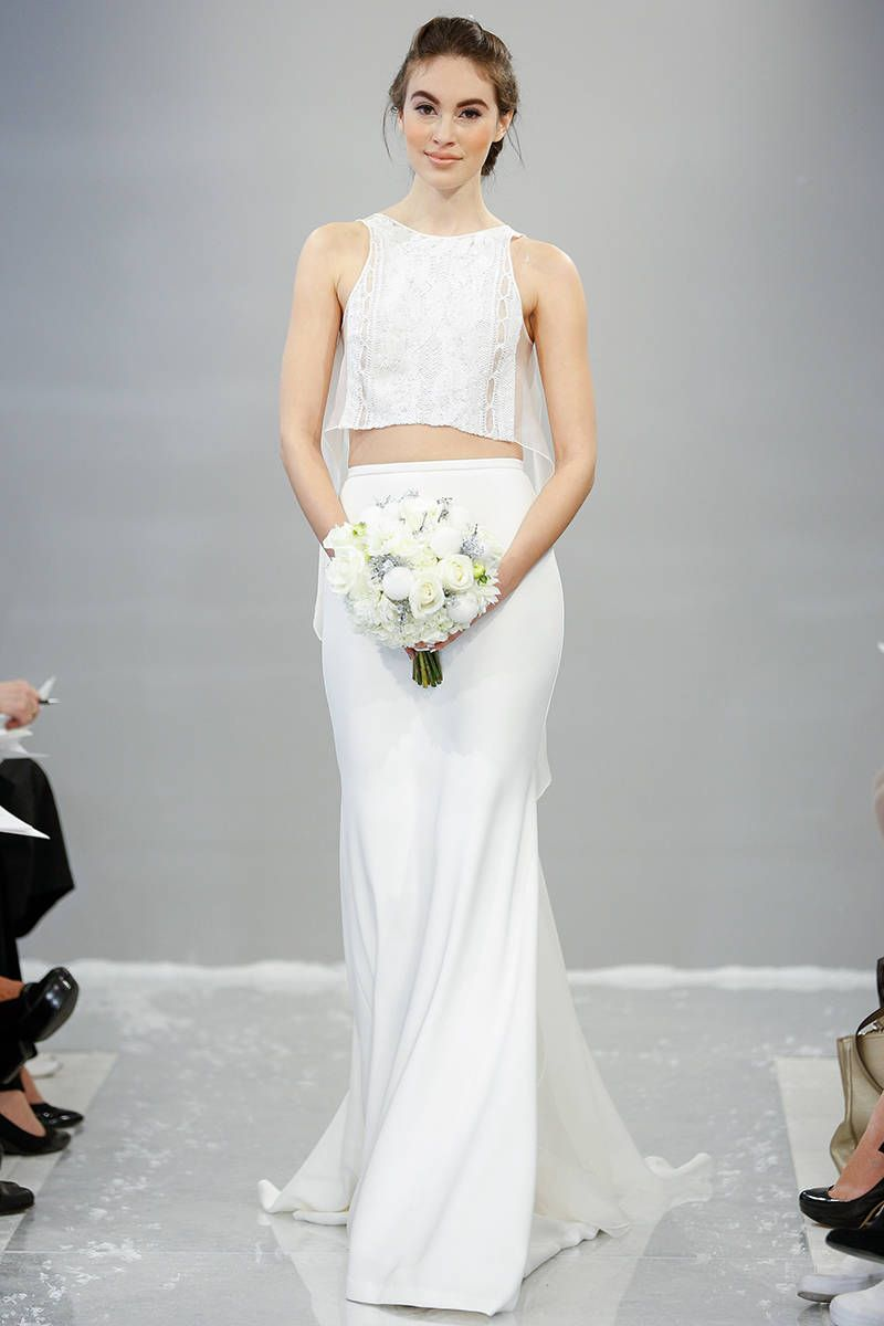 Crop tops and slits the new ways brides are showing skin houghton