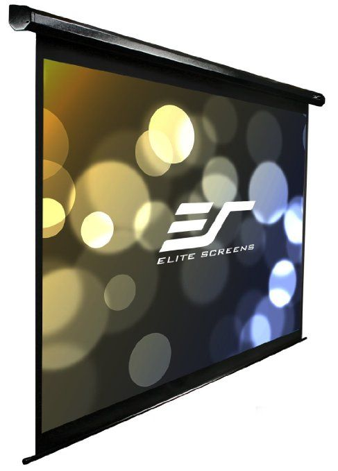 Amazon Com Elite Screens Electric125h Spectrum Series Electric Projection Screen 125 Diag 16 9 61 3 Hx1 Projection Screen Projector Screen Electric Screen