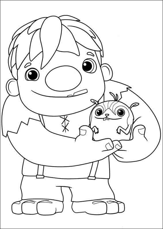 Dibujos para colorear wallykazam 2 color pics for Wallykazam coloring pages