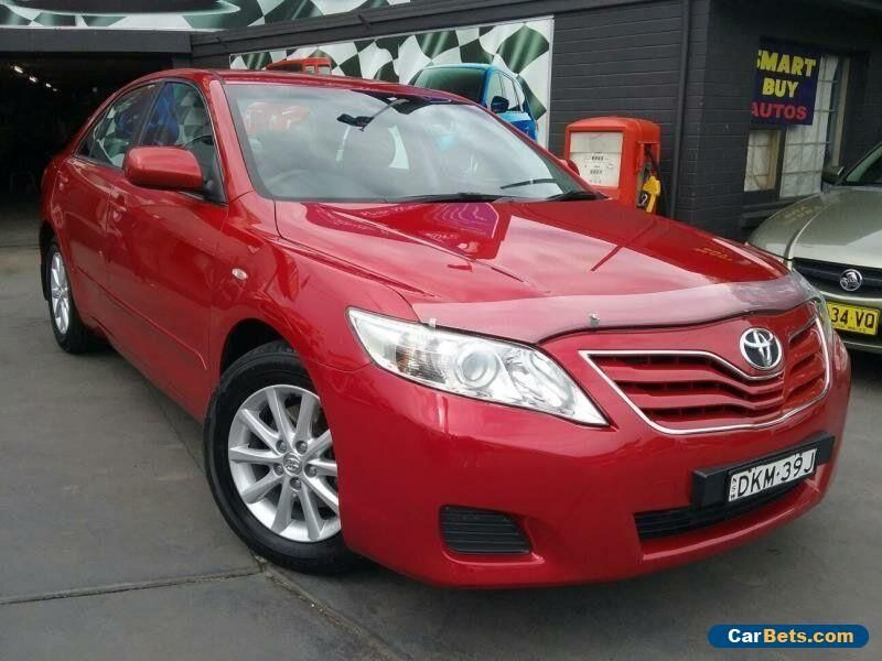 2011 Toyota Camry Acv40r 09 Upgrade Altise Red Automatic 5sp Automatic Sedan Toyota Camry Forsale Australia 2011 Toyota Camry Toyota Camry Camry