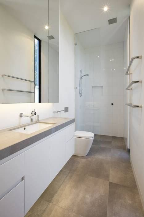 Long Skinny Bathroom Layout, Bath At The Camera End Of This Shot Alison  Dodds Architect   Projects