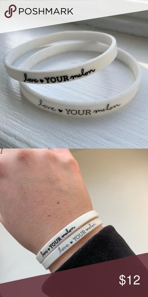 Love Your Melon bracelets 2 white rubber bracelets from Love Your Melon  Love Your Melon Jewelry Bracelets c1fae45d2