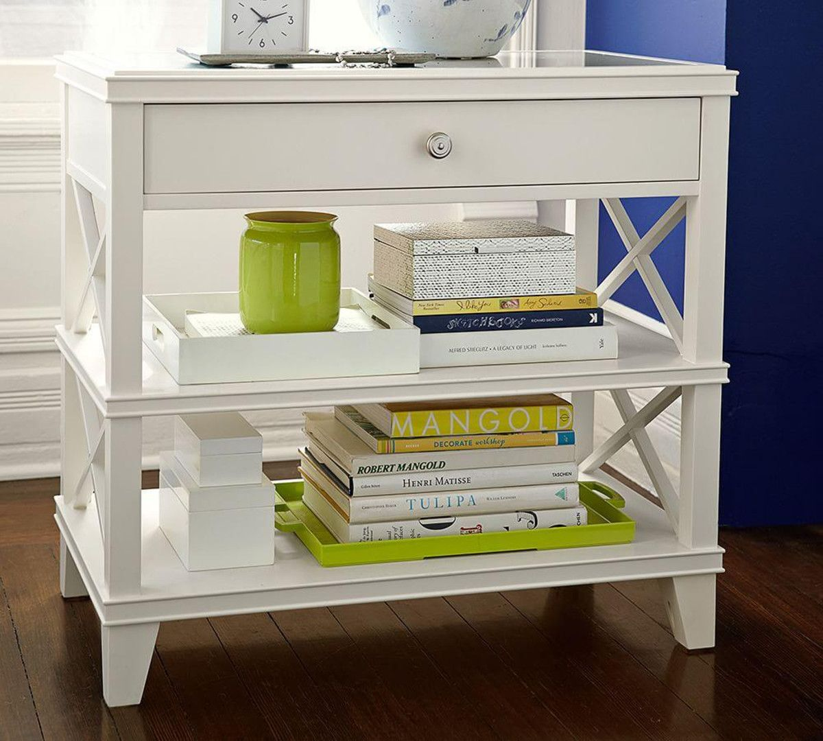 Charming Apartment / Guest Room / Aliza Room   Bedside Table Clara Lattice Wide Bedside  Table Nice Ideas