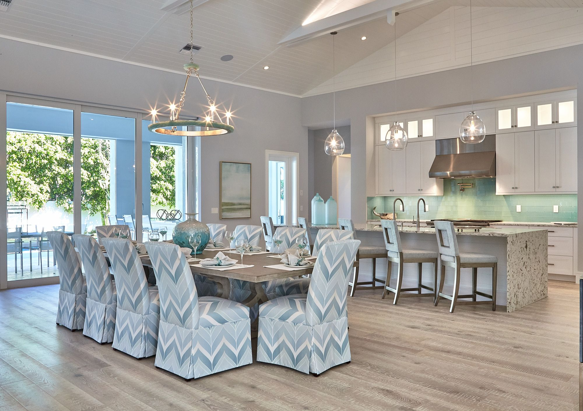 One Of A Kind Island Inspired Home In Naples With Interior Design And Furnishing By Robb Stucky Designer Susan Bleda