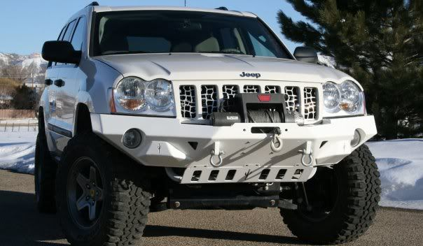 New Wk Winch Bumper Jeep Wk Jeep Bumpers Jeep