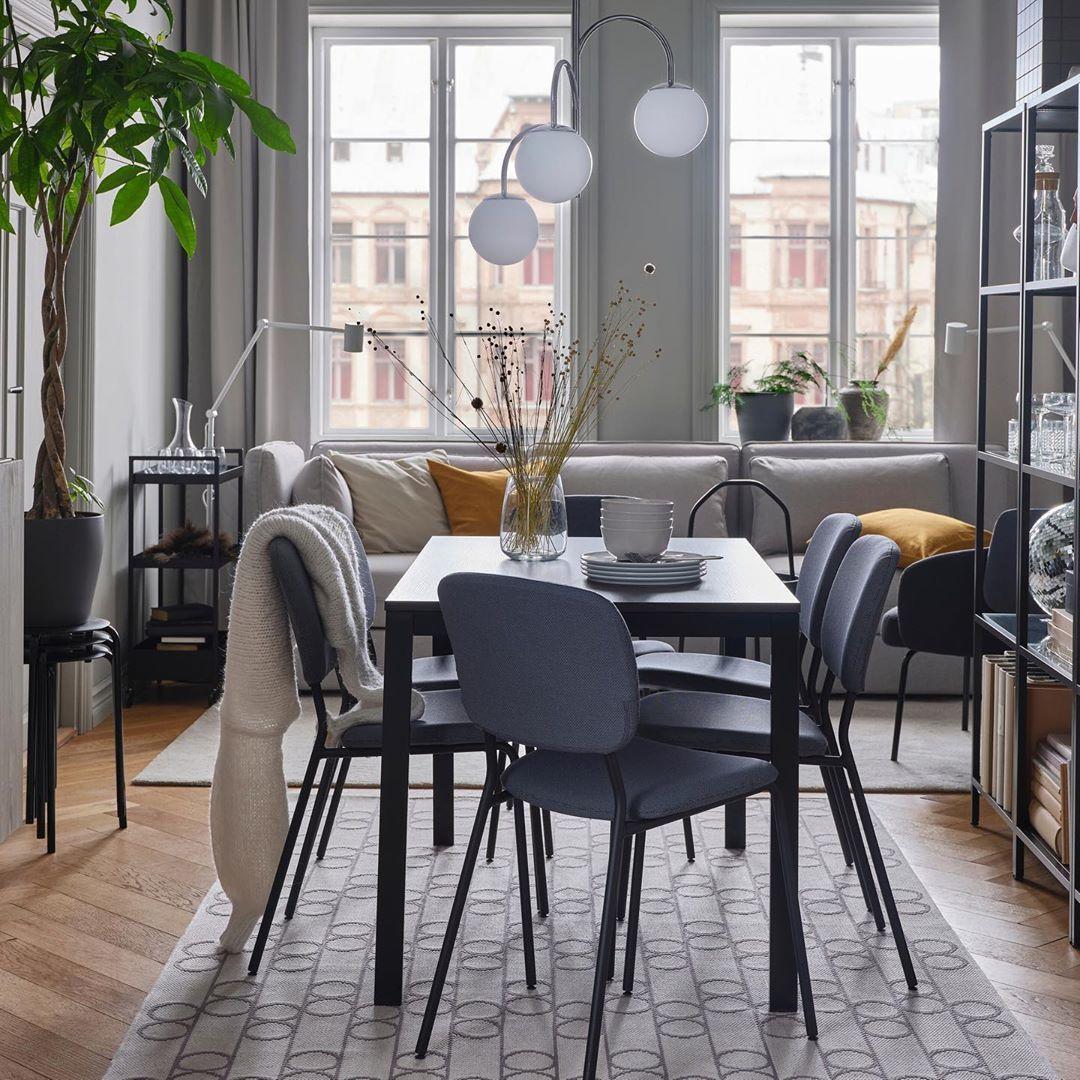 Ikea Nederland On Instagram Aan Tafel Vangsta Tafel Vittsjo Kast Simrishamn Hanglamp Woo Eetkamerstoelen Ideeen Voor Een Kamer Thuisdecoratie