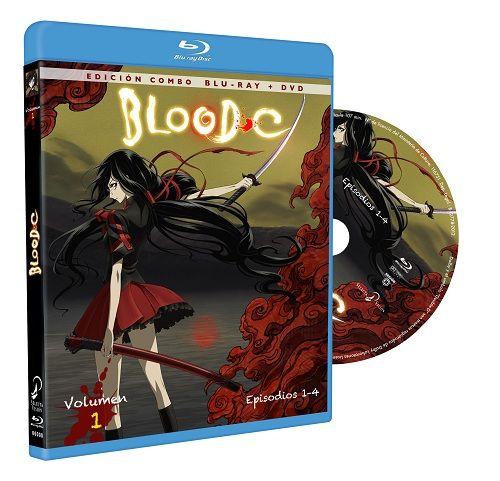 Blurays de la serie Blood-C.