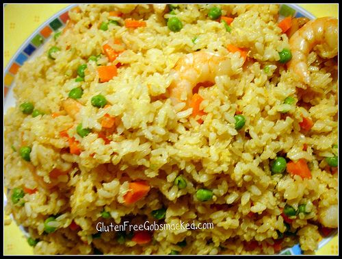 Gf pineapple and shrimp fried rice shrimp fried rice fried rice probably a million times since diagnosis i know lol heres a relatively quick dish to make with your new rice making skills we usually make fried rice ccuart Images
