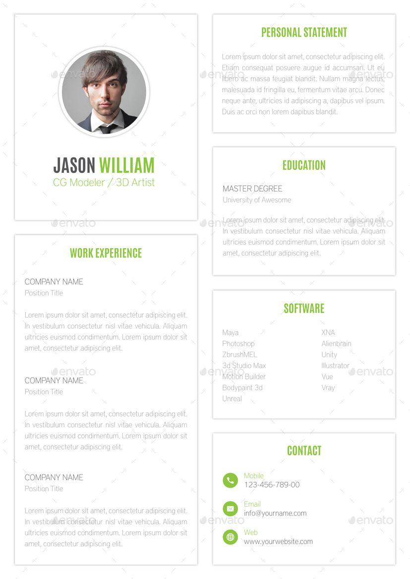 Creative Resume Bundle Creative Sponsored Resume Bundle
