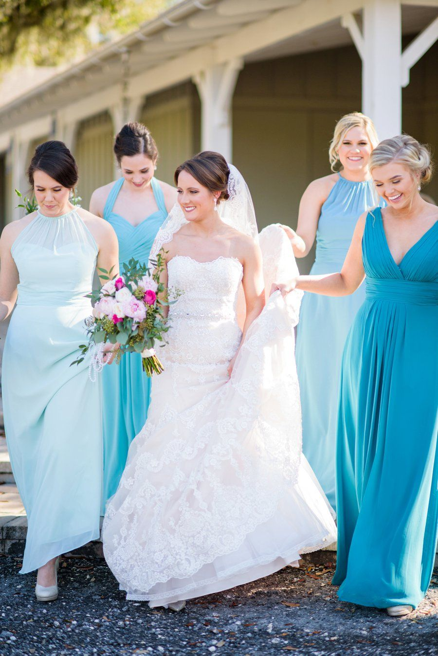 A pink and teal rustic florida wedding pinterest weddings
