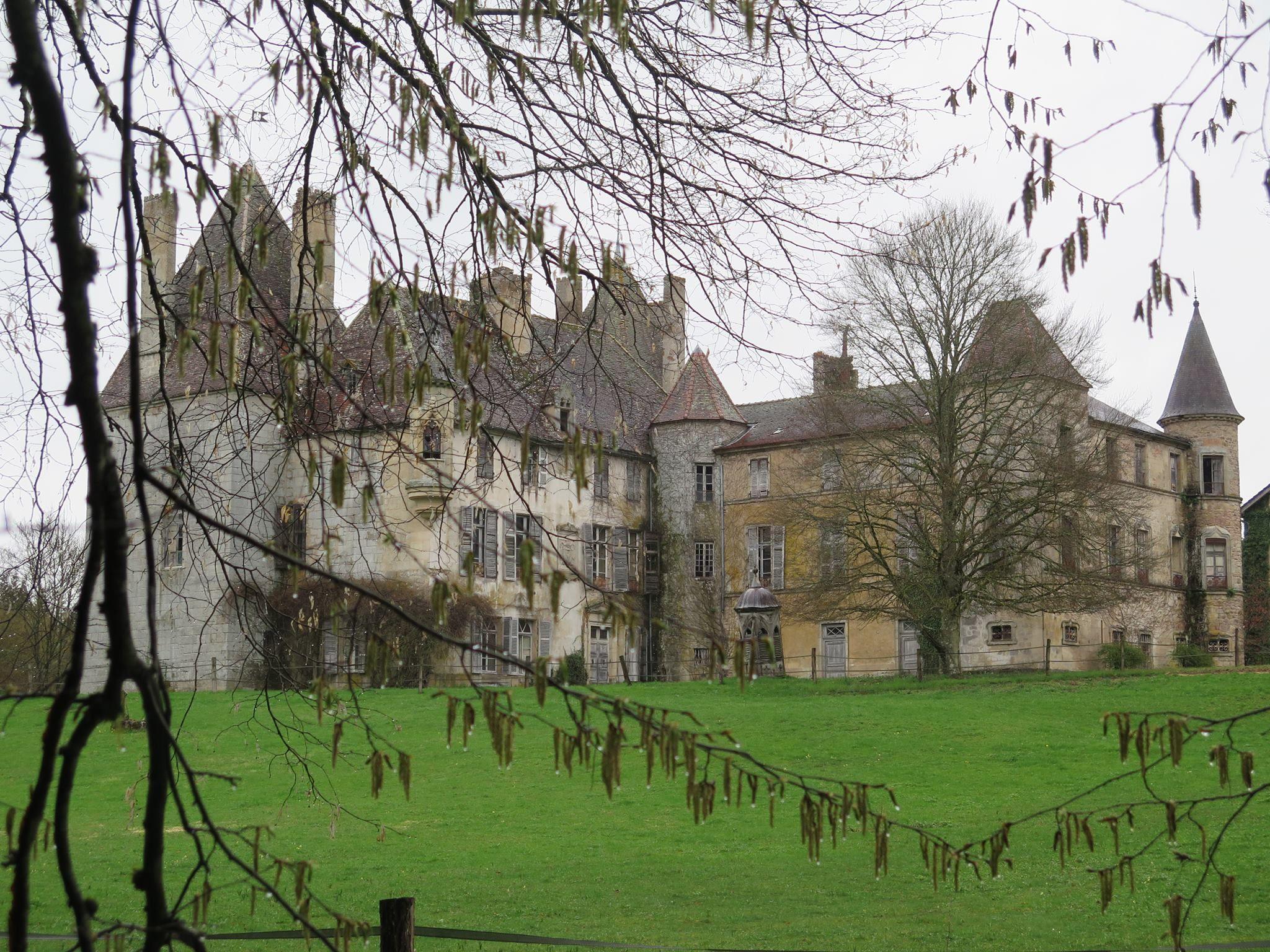 Domaine Chateau De Digoine Boven Couches Chateau Domaine Castle