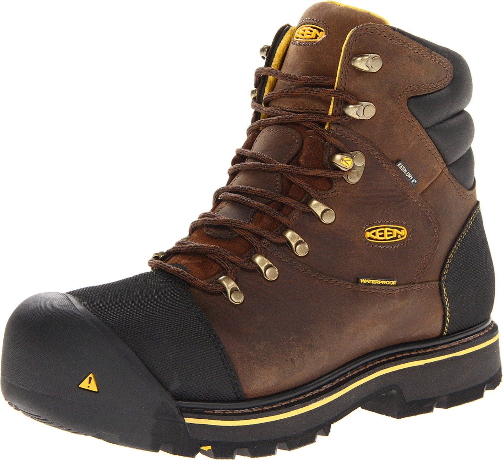 Keen Utility Mens Milwaukee Waterproof Wide Work Bootdark Earth13 D Us To View Further For This Item Visit The Image Link T Work Boots Boots Safety Shoes