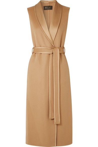 Loro Piana – Belted cashmere coat