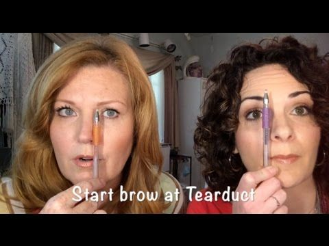 "The Anatomy of the Eyebrow ""How To"" Where to start, arch & end"