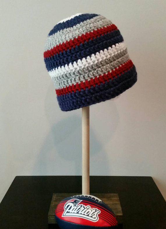 ab7edc8d23b A great hat for New England Patriots fans! Go Pat s Hat. Winter hat ...